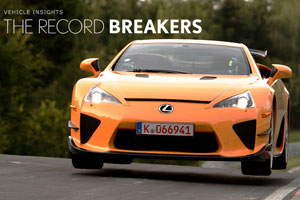 Lexus LFA Reader Breakers