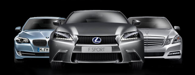 Lexus GS vs. BMW 535i vs. Mercedes E350 Sport