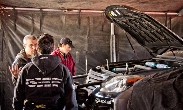 Looking over the Lexus LX Racer