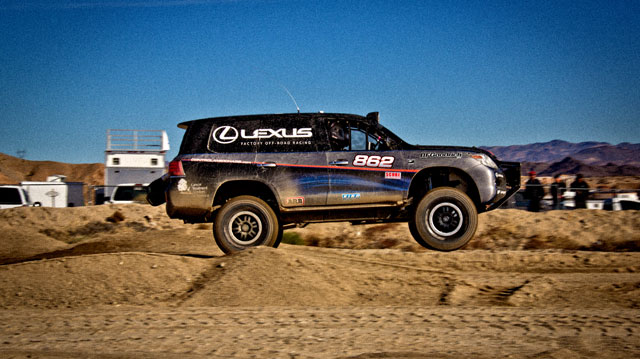 Lexus LX First Jump