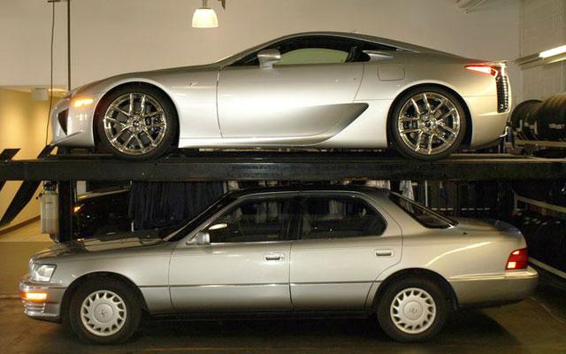 Lexus LFA & Lexus LS 400