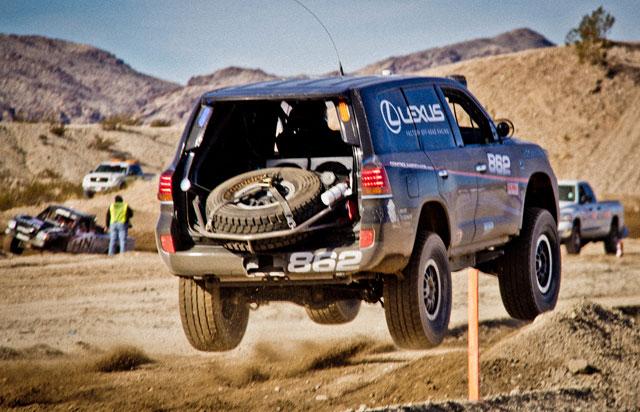 Lexus LX Racer Jump Jumping