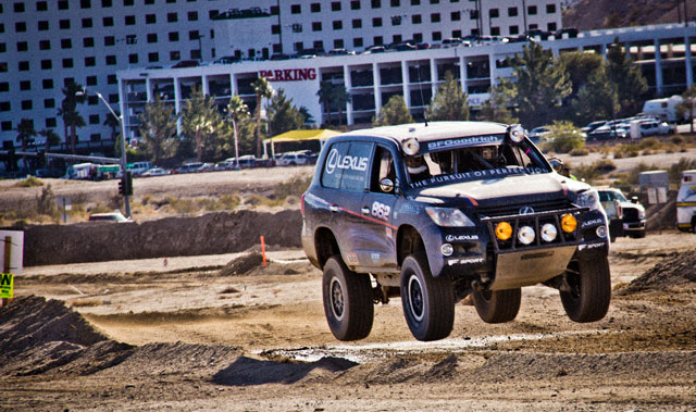 Lexus LX Racer Jumping