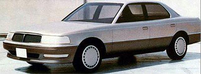 Lexus LS 400 Prototype
