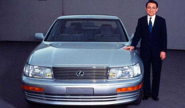 Lexus LS 400 & Chief Engineer Ichiro Suzuki