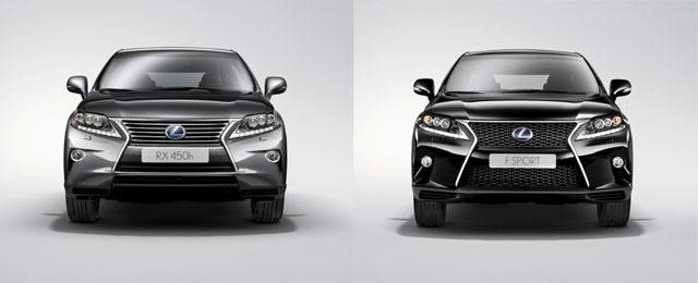2013 Lexus RX & RX F Sport