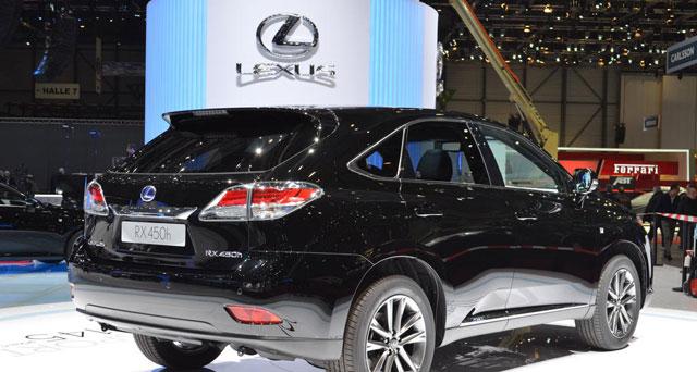 2013 Lexus RX 450h F Sport 3