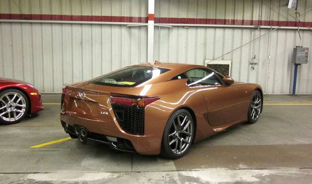 Pearl Brown Lexus LFA