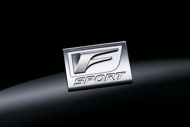 Lexus RX F Sport Badging