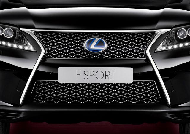 Lexus RX 450h F Sport Grille