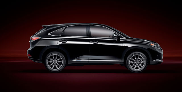 Lexus RX F Sport Side Profile