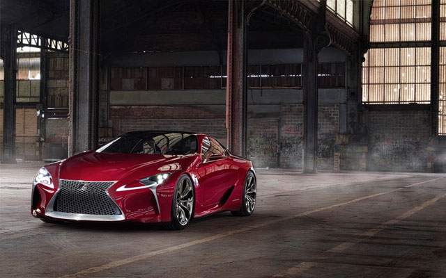 Lexus LF-LC Desktop Wallpaper Angle