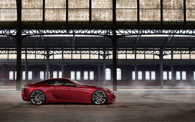 Lexus LF-LC Desktop Wallpaper Side