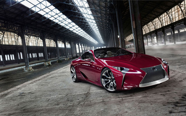 Lexus LF-LC Desktop Wallpaper