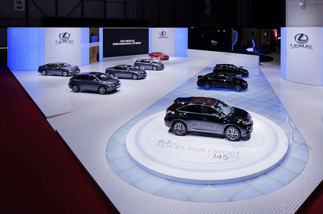Lexus Geneva Display 2