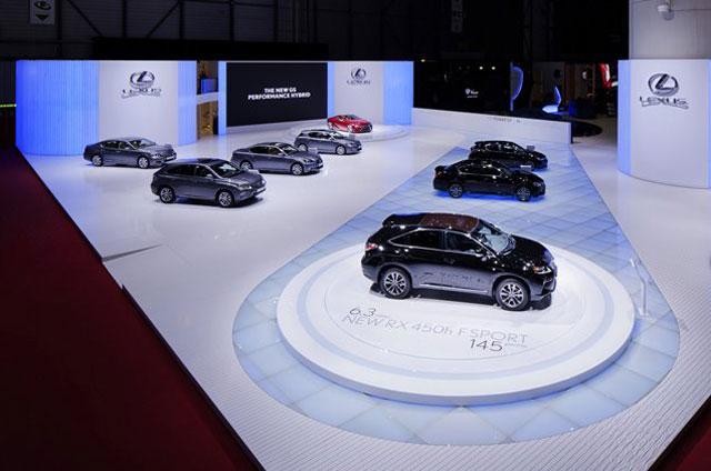 Lexus Geneva Display 2