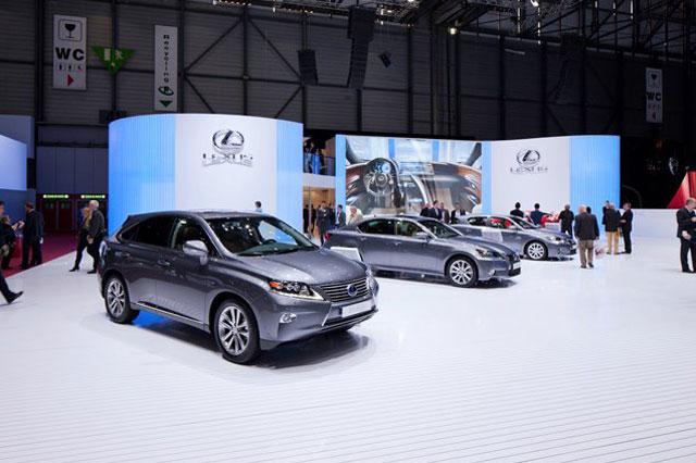 Lexus Geneva Display 4
