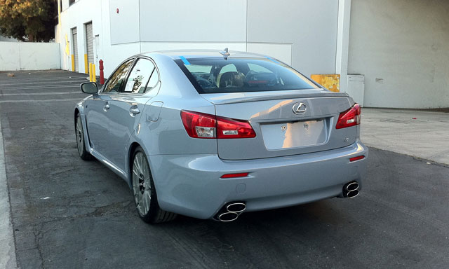 Lexus IS F in Cement Gray by VIP Auto Salon Rear