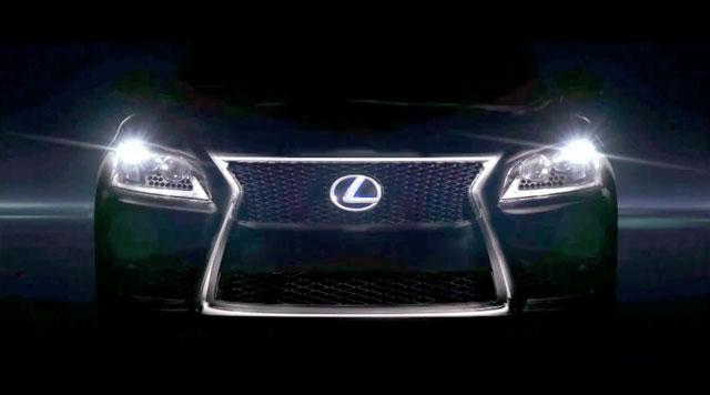 2013 Lexus LS Teaser