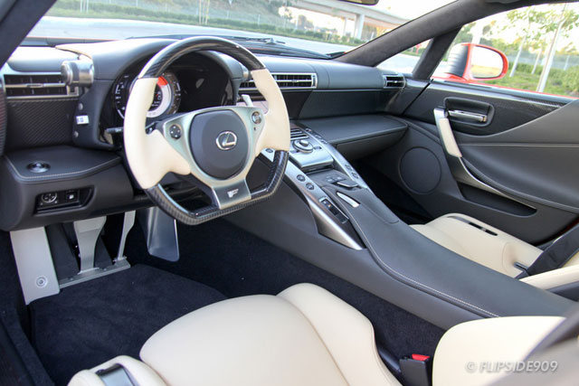 Charming 12 03 15 Lexus Lfa 272 Interior