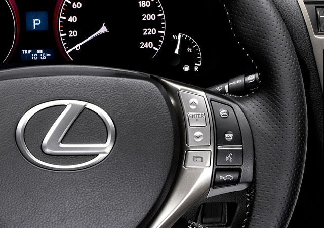 Lexus RX F Sport Drive Mode Selector