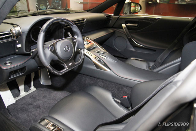 Lexus LFA Starlight Black Interior