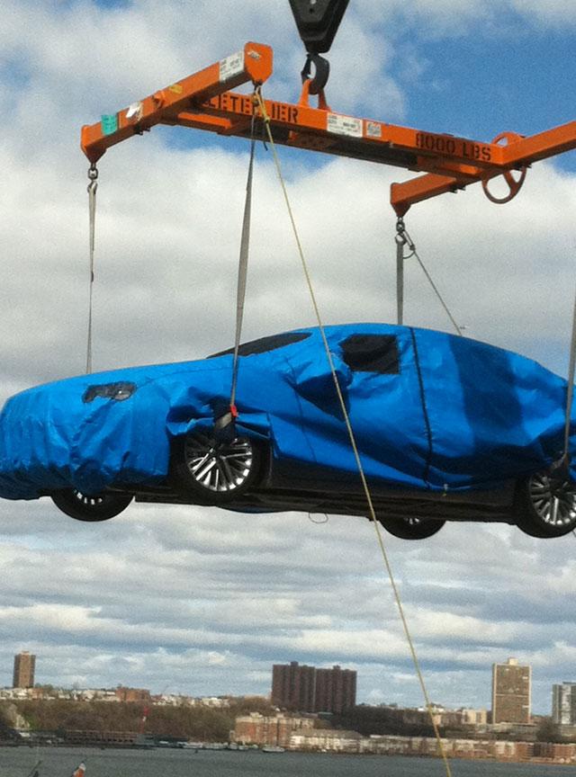 Lexus Mystery Vehicle