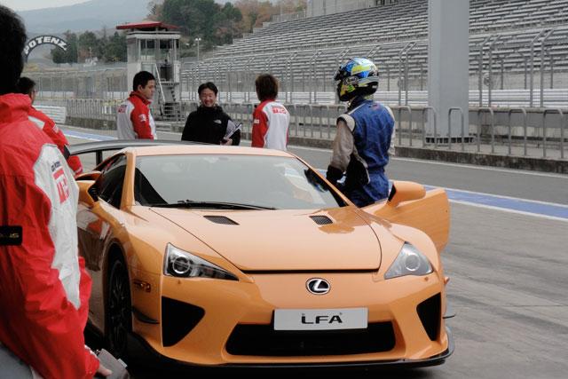 Lexus LFA Fuji 2