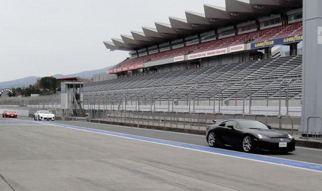 Lexus LFA Fuji Speedway 1