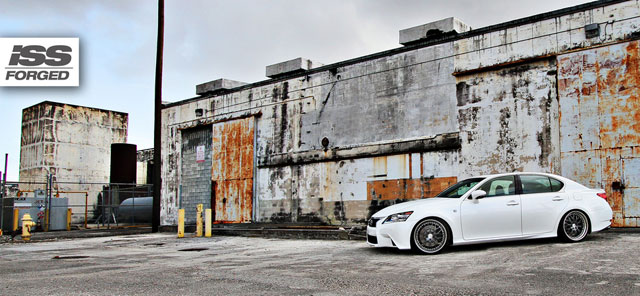 2013 Lexus GS on ISS Forged Spyders