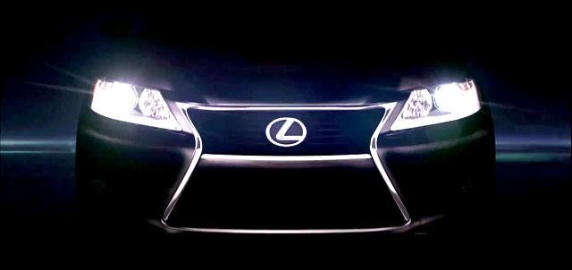 Lexus ES 350 Teaser