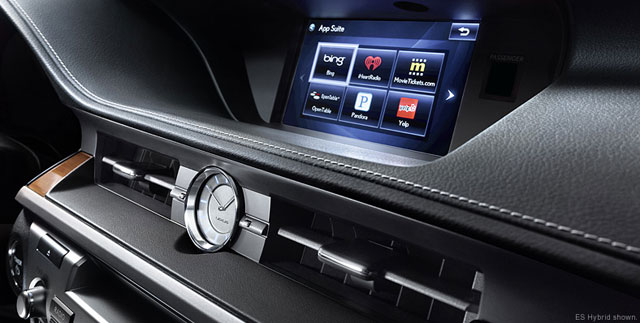 2013 Lexus ES Display Screen