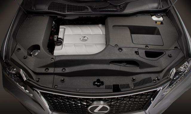 Lexus RX F Sport Engine