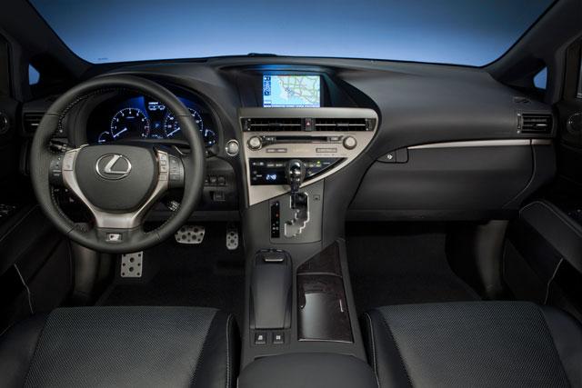 2013 Lexus RX F Sport Interior
