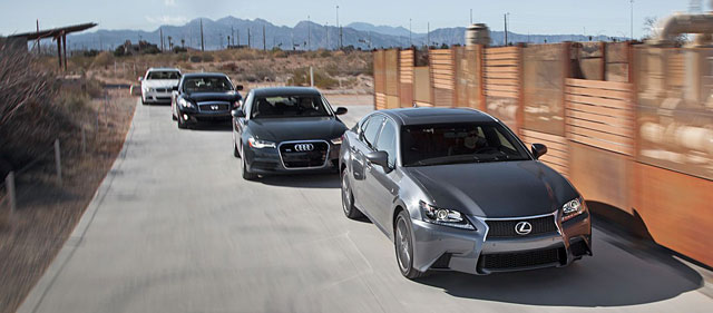 2013 Lexus GS 350 F Sport Comparison Test Motor Trend