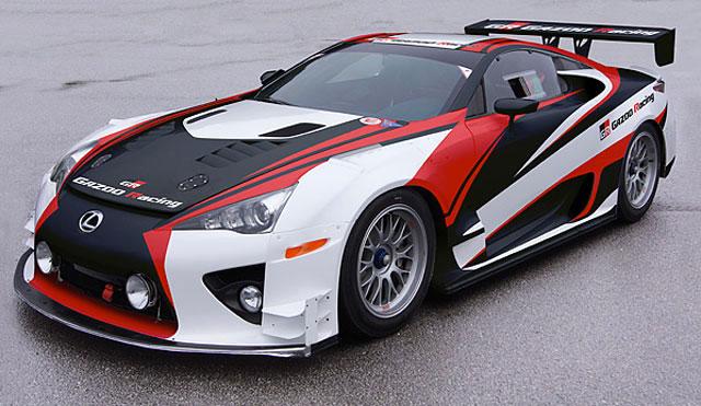 2012 Nürburgring 24h Race Lexus LFA