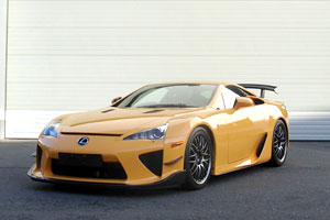 First European Lexus LFA Nürburgring