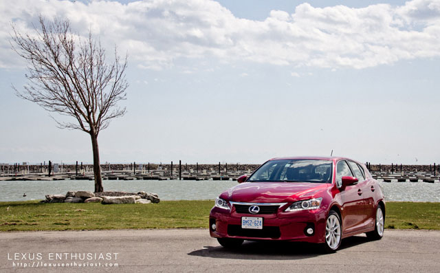 2012 Lexus CT 200h Windy Tree