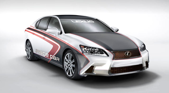 2013 Lexus GS Pace Car Long Beach Grand Prix