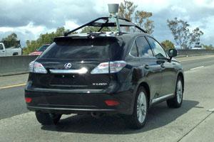 Autonomous Lexus RX by Google