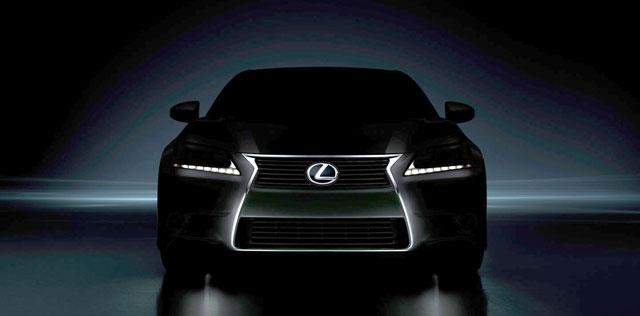 Lexus GS Teaser Image