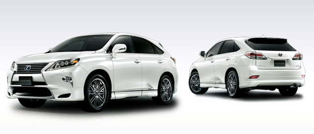 2013 Lexus RX Body Kit from Modellista