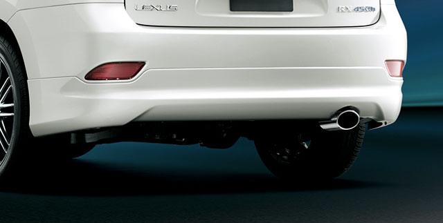2013 Lexus RX Modellista Rear Underspoiler