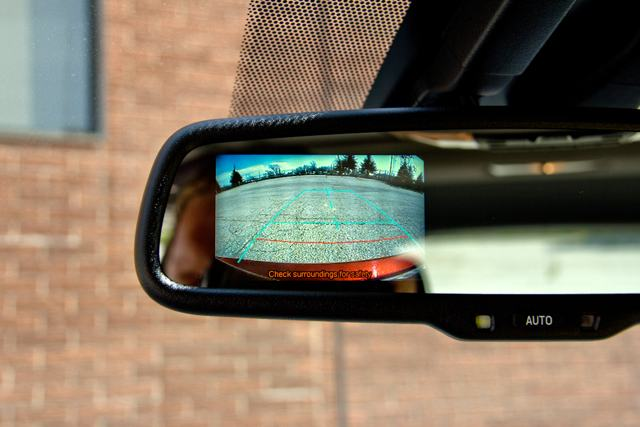 Lexus CT 200h Rearview Mirror Backup Camera