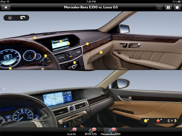 Lexus GS 350 vs Mercedes E350 Interior
