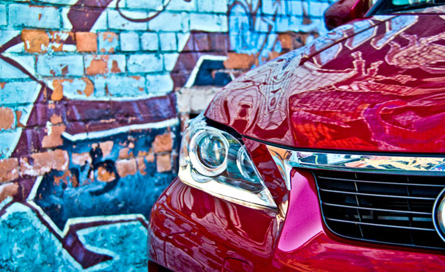 Lexus CT 200h Graffiti