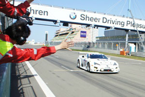 Lexus LFA Racing in VLN3