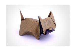 Lexus ES Origami Cat