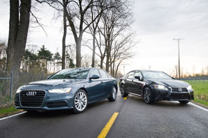 Winding Road: Lexus GS 350 AWD vs. Audi A6