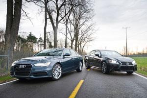 Winding Road: Lexus GS 350 AWD vs. Audi A6